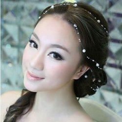 9-K1572 Wild Bride Starry Hair Headdress Korean Flower Head Wedding Accessory -