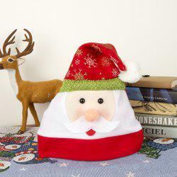 Adult Flannel Cartoon Decoration Christmas Hat -