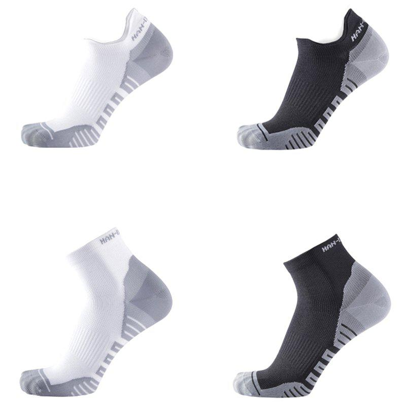 Affordable Xiaomi youpin HANDRAGON Moisture Absorbing Antibacterial Light Sports Socks 3 Pairs