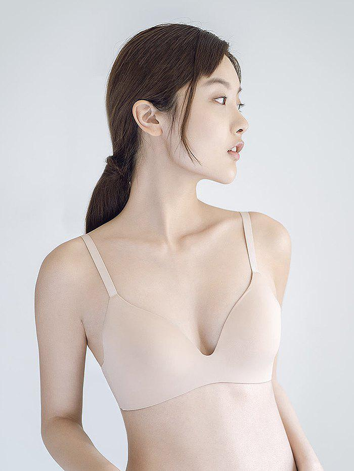 Trendy Soft No Steel Ring One-piece Bra from Xiaomi youpin