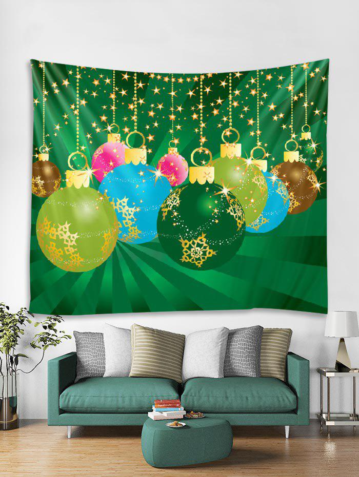 Latest Christmas Star Ball Tapestry Art Decoration