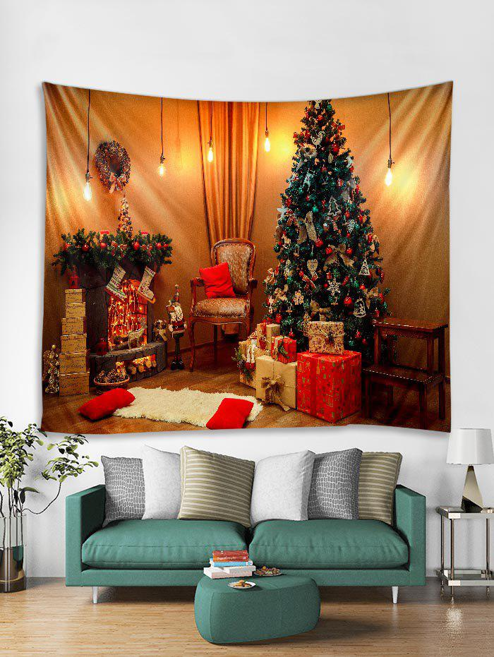 Fashion 3D Christmas Tree Gift Tapestry Art Decoration