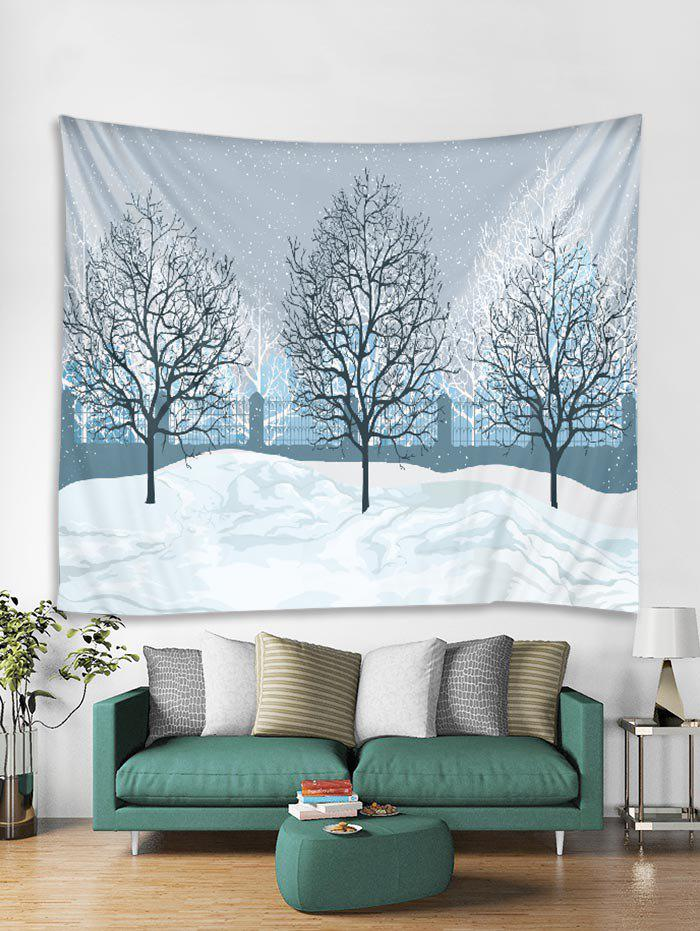Affordable Christmas Snow Tapestry Art Decoration