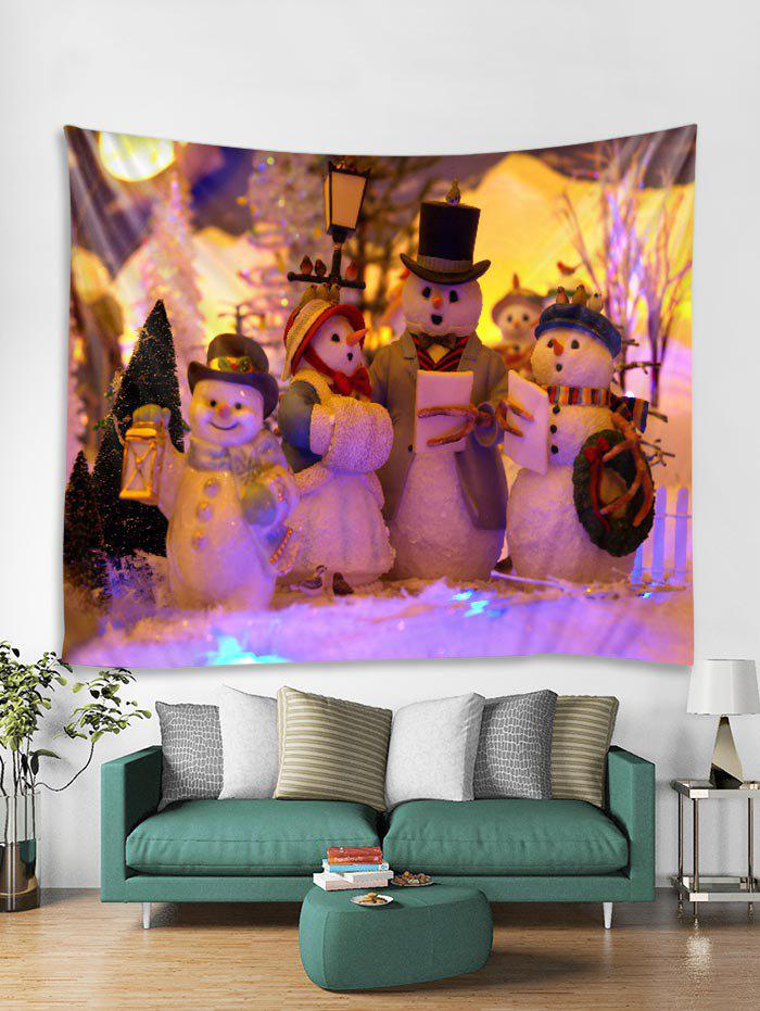 Buy Christmas Snowmans Tapestry Art Decoration