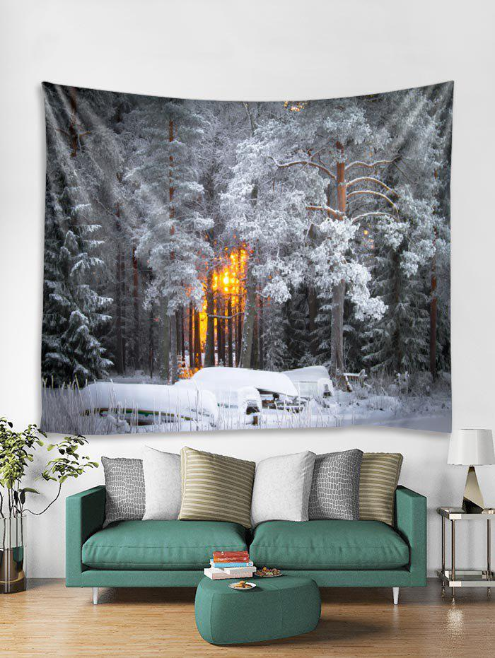 Outfits Christmas Snow Pattern Tapestry Art Decoration