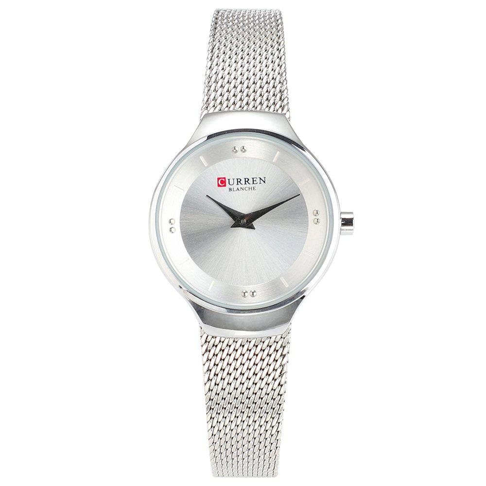 Shops CURREN Mesh Belt Ladies Waterproof Quartz Watch
