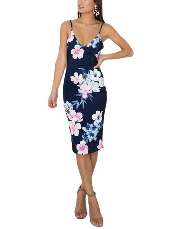 Affordable Woman's Ladies Sexy Backless Tight One-piece Dress