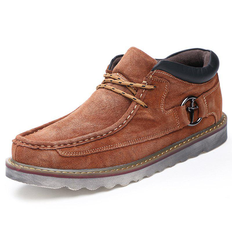 Trendy Fashion Large Size Retro Style Casual Tooling Shoes