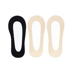 Xiaomi youpin Ladies Comfortable Non-slip Boat Socks 3 Pairs -