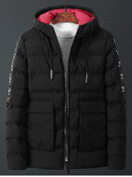 Men's Parka Windproof Winter Warm Cotton -