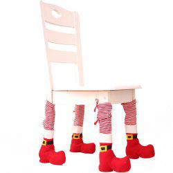 Christmas Decorations Table Chair Protective Cover Creative Dress Up -