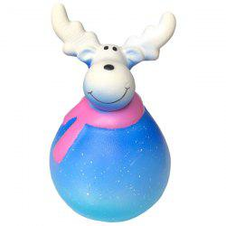 Slow Rebound Christmas Deer Squishy Toy -