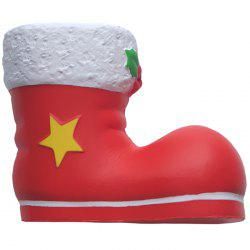 Slow Rebound Christmas Shoes for Squishy Christmas Boots -