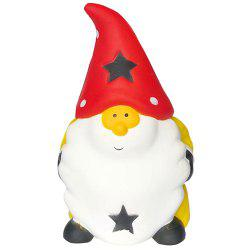 Slow Rebound Santa Squishy Christmas Toy -
