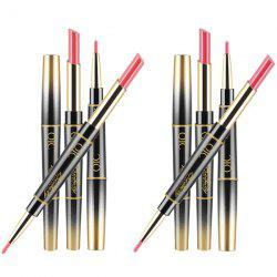 QIC Multifunction Lipstick Pen Lipstick Pen And Lip Liner On Each Side Makeup 1 Pc -