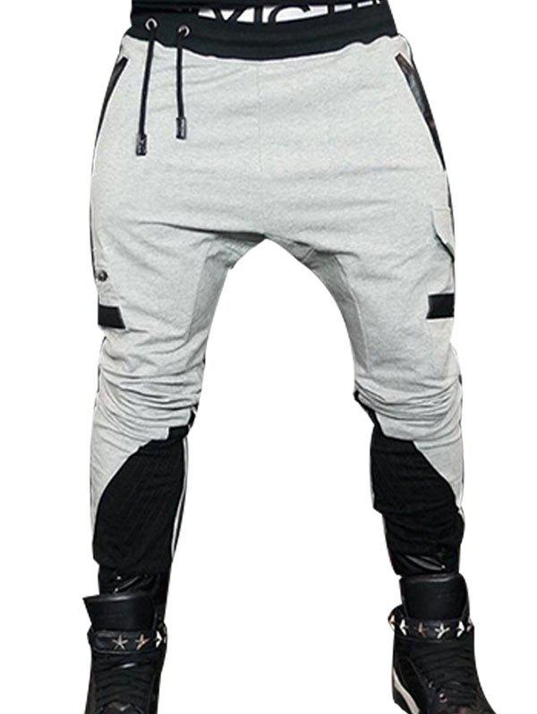 Outfits Men's Casual Color Matching Pants