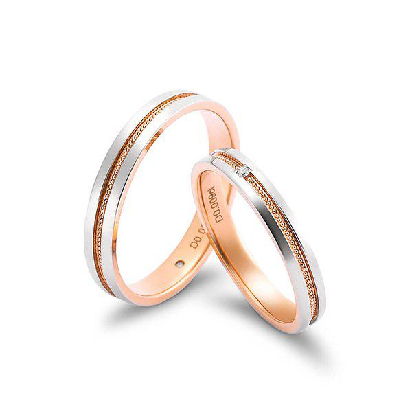 Latest Xiaomi youpin LUCKYME Desire Series Double-gold Diamond Ring