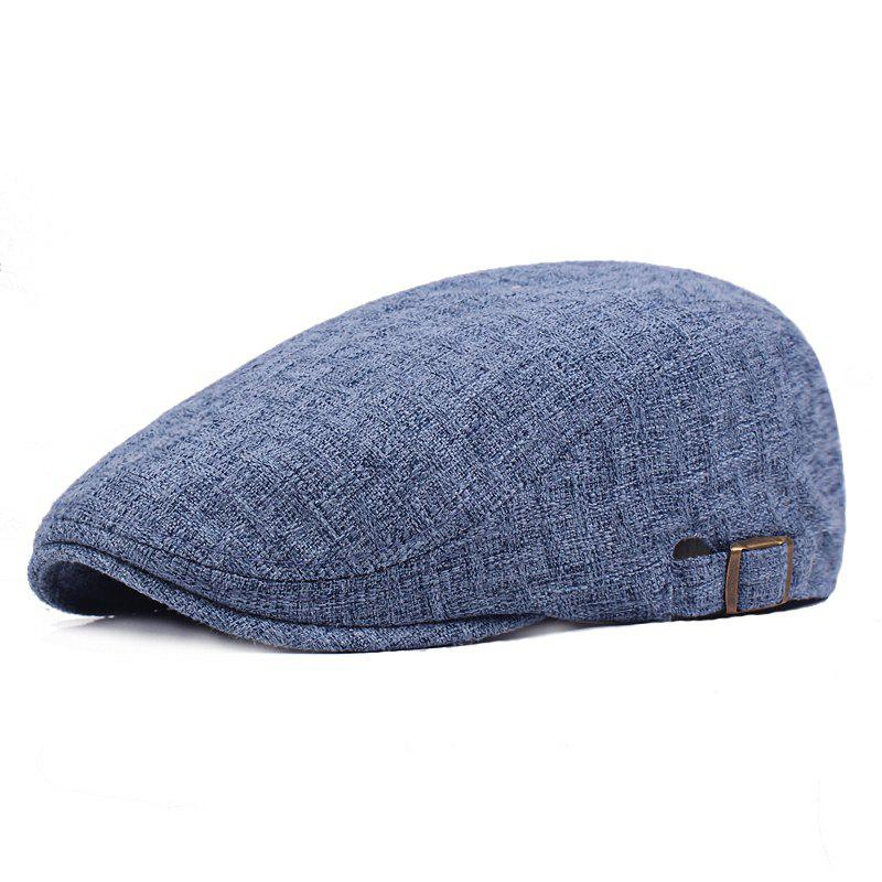 Chic Cotton and Linen Outdoor Travel Beret
