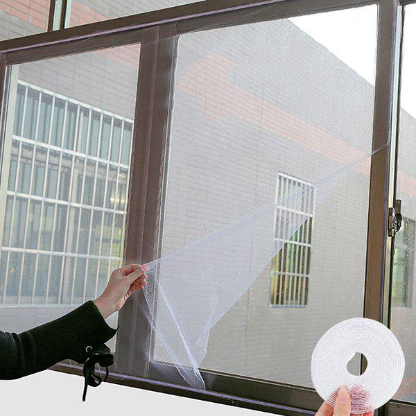 Sale Self-adhesive Simple Mosquito Screen Nets Invisible Screen DIY Can Cut Encrypted Window Screens with Velcro
