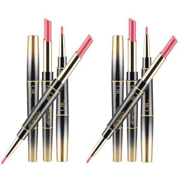 Latest QIC Multifunction Lipstick Pen Lipstick Pen And Lip Liner On Each Side Makeup 1 Pc