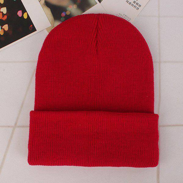 Buy Couples Autumn Winter Knitted Headgear