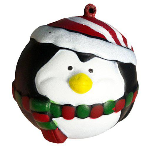 Latest Slow Rebound Santa Claus Penguin Snowman Squishy Christmas Toy