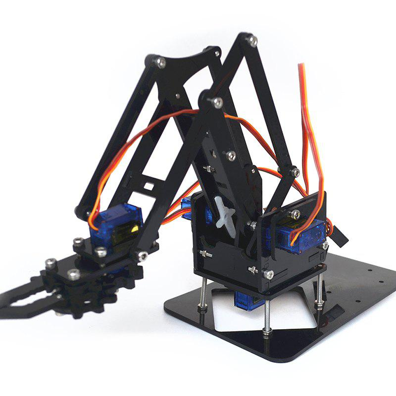 Affordable SG90 Four-degree-of-freedom Robotic Arm