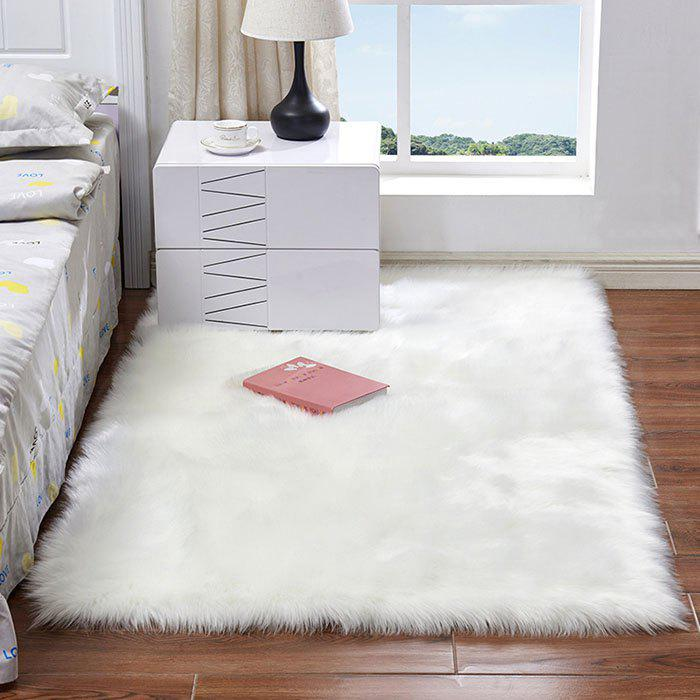 Discount Australian Faux Wool Leather Sofa Carpet Mat Bedroom Long Blanket