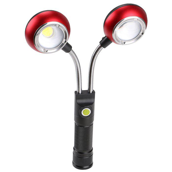 Affordable Multi-angle Adjustment COB Work Light Double Head Inspection Lamp