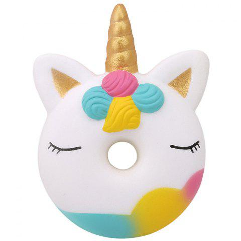 Squishy Slow Rebound Unicorn Donut Doll