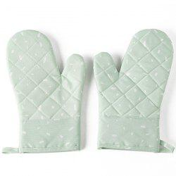 Microwave Oven Gloves Thickened Insulation Kitchen High Temperature Baking Special Home Fabric -