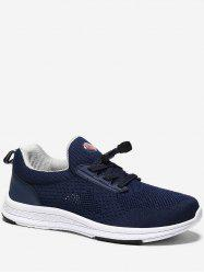 Drawstring Lace Breathable Running Sneakers -