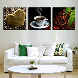 Triple Painting Core Love Coffee Oil Painting -