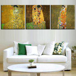 Triple Painting Core Abstract Painting Woman Oil Painting -