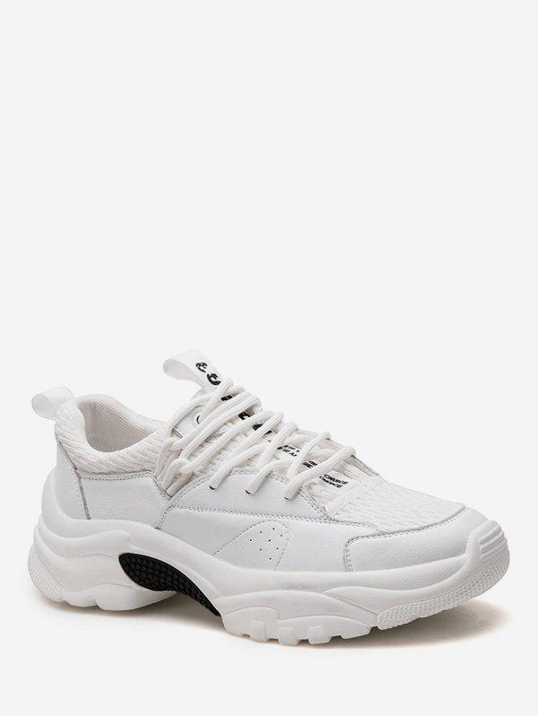 Latest Lace Up Breathable Chunky Sneakers