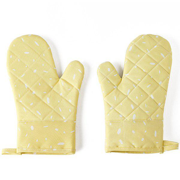 Shop Microwave Oven Gloves Thickened Insulation Kitchen High Temperature Baking Special Home Fabric