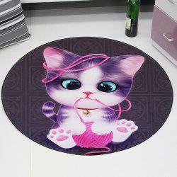 3D Cartoon Cute Pet Cute Anime Mat Cloakroom Photo Round Children's Carpet Living Room Bedroom Swivel Chair Hanging Basket -