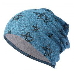 Five-pointed Star Knit Hip Hop Headgear -
