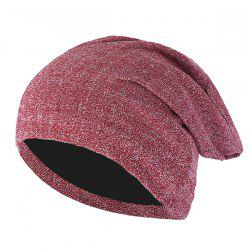 Men's Pullover Cap Personality Shiny Silver Line Windproof Warm -