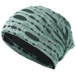 Pullover Cap Ladies Knit Hat Opening Cotton Pile Cap Ear Protector -