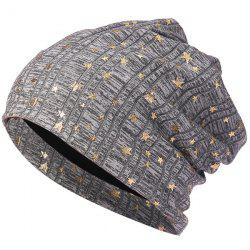Simple Small Five-star Pile Hat -