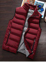 Men's Winter Warm Cotton Clothes Vest Korean Big Size Vest Thickening -