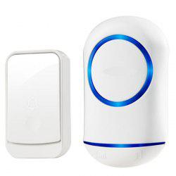 Smart Wireless Doorbell Remote Remote Control Electronic Waterproof Intelligent Doorbell -