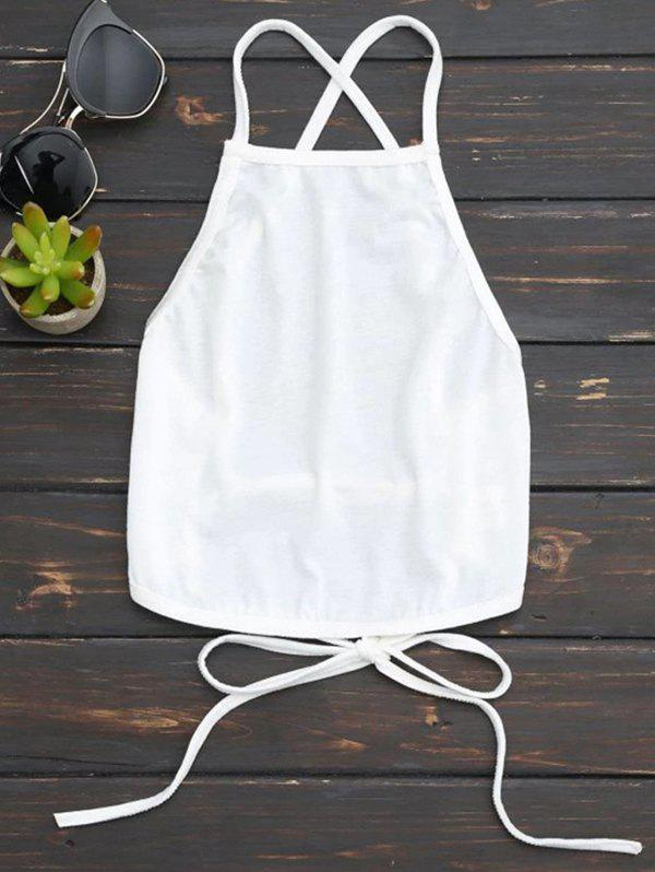 Fancy Women's Vest Summer Neck Hanging Halter