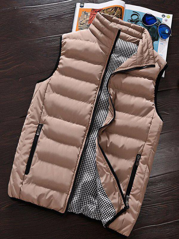 Store Men's Winter Warm Cotton Clothes Vest Korean Big Size Vest Thickening