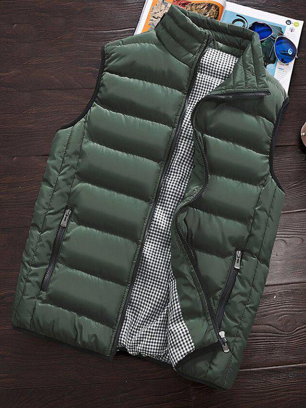 Best Men's Winter Warm Cotton Clothes Vest Korean Big Size Vest Thickening