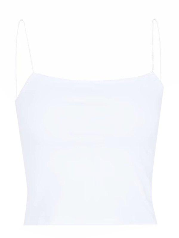 Outfits Women's Fine Rubber Band Slim Short Tank Top Bottoming Shirt