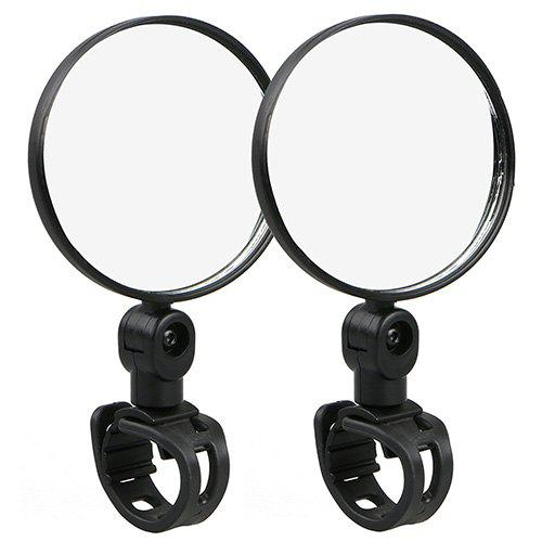 Unique Large Round Bicycle Rearview Folding Mirror