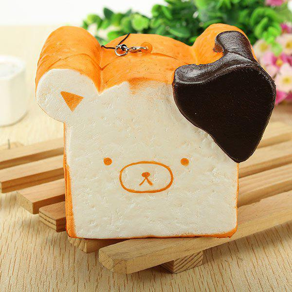 Unique Squishy Toy 8 Seconds Slow Rising Super Soft Cute Fragrance Reality Touch Bear Toast Bread Decor