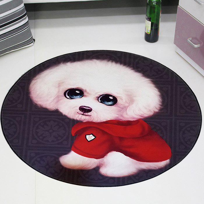 Hot 3D Cartoon Cute Pet Cute Anime Mat Cloakroom Photo Round Children's Carpet Living Room Bedroom Swivel Chair Hanging Basket